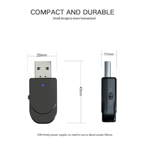Image 5 - KEBIDU USB Bluetooth аудио ресивер, мини стерео Bluetooth 5,0 аудио AUX RCA 3,5 мм разъем для ТВ ПК беспроводной адаптер