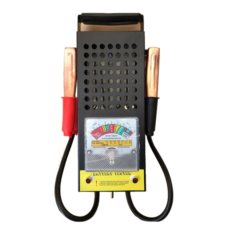 Car And Motorcycle Battery Capacity Detector Battery Tester Discharge Fork High Power Battery Discharge Meter