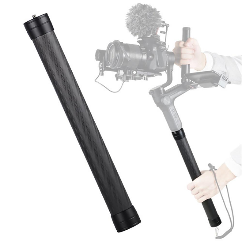 Professional Carbon Fiber Extension Extension Monopod Pole Stick Thread Stabilizer Rod Monopod For DJI Ronin S