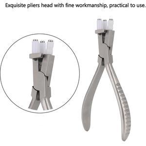 Image 1 - Edelstahl Trigeminus Gläser Zange Einstellen Objektiv Krümmung Hohe Härte Brillen Gläser Rahmen Reparatur Werkzeug Zubehör