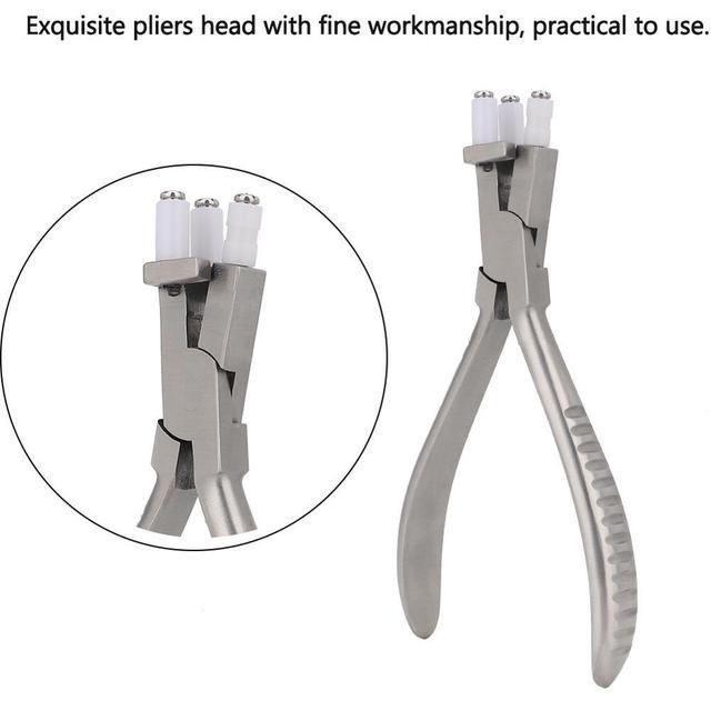 Edelstahl Trigeminus Gläser Zange Einstellen Objektiv Krümmung Hohe Härte Brillen Gläser Rahmen Reparatur Werkzeug Zubehör