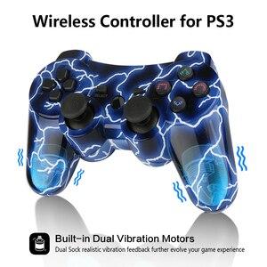 Image 4 - K ISHAKO Für Sony gamepad ps3 2,4 GHz Dualshock Buletooth Gamepad Joystick Drahtlose konsole für Ps3/ps2/pc spiel controller