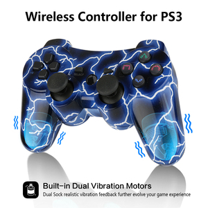 Image 4 - K ISHAKO For Sony gamepad ps3 joystick Dualshock Bluetooth Gamepad Joystick Wireless console for Ps3/ps2/pc game controller
