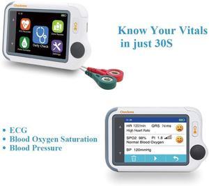 Image 3 - Monitor portátil dos sinais vitais viatom checkme lite oxímetro de pulso handheld com app & relatório do pc, ecg/eckg monitor