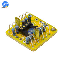 Pwb duplo da amplificação da c.c. do preamp da placa do ampère do op para ne5532 opa2134 opa2604 ad826