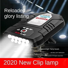 LED Cap Light Clip Hat  Head Lamp Motion Induction Portable Rechargeable Waterproof Lamp Fishing Dropshipping