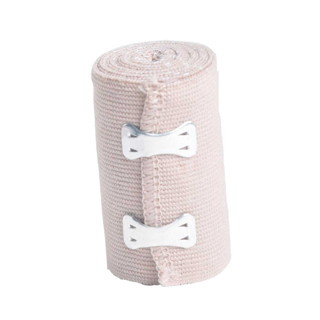 Breathable Cotton Elastic Bandage Wrap Compression Roll With
