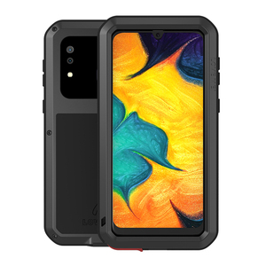 Image 1 - Love Mei Metal Case For Samsung Galaxy A30 A20 Armor Shockproof Phone Cover For Samsung A30 A20 Rugged Full Body Anti Fall Case