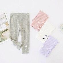 Летние детские леггинсы для девочек в Корейском стиле с вишенками детские штаны 7 предметов