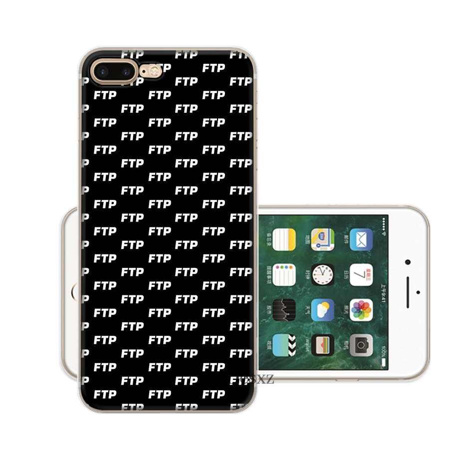 Điện Thoại di động Dành Cho IPhone X XS Max XR 6 6S 7 8 Plus 5 5S SE Cứng bao da FTP LẠNH Thoáng Mát Logo Vỏ Bảo Vệ