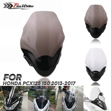Мотоцикл ветровое стекло дефлектор потока Подходит для Honda PCX 125 PCX125 150 2013