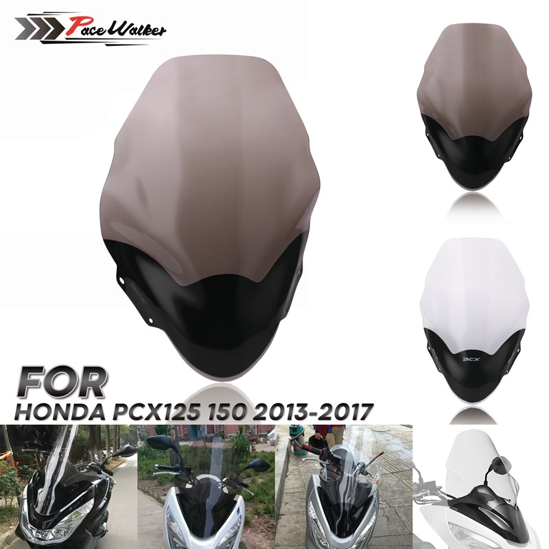 Motorcycle Windscreen Flow Deflector Suitable For Honda PCX 125 PCX125 150 2013-2017