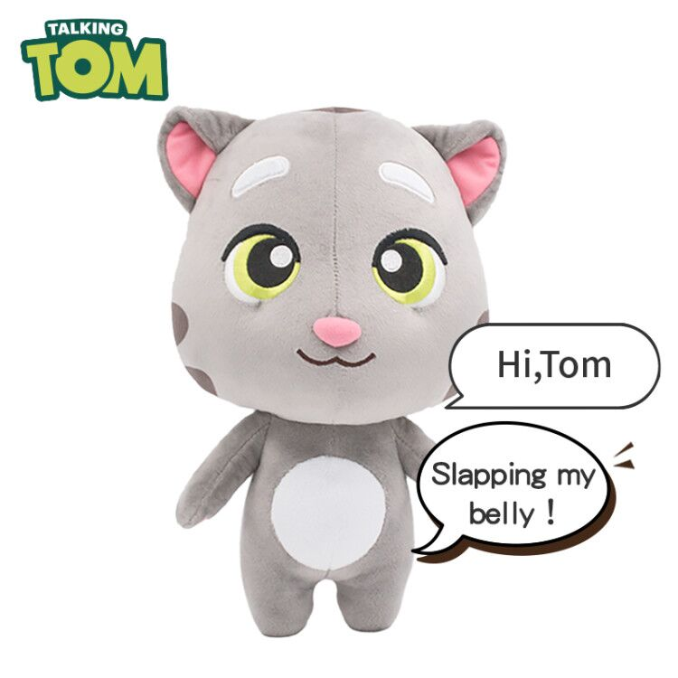 Electronic Vocal Plush Soft Cat Toys Stuffed Talking Tom Cat Talking Tom And Friends Sounding Dolls Birthday Gift For Kids Child
