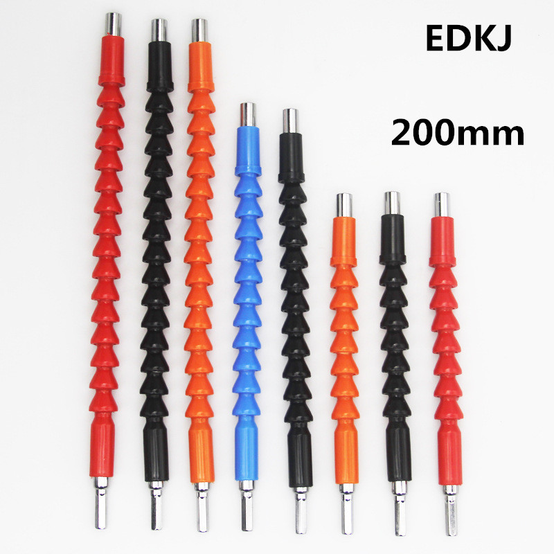 1//4 Shank Flexible Shaft Drill Bit Extension Screwdriver Connecting Holder Link