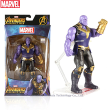 Hasbro Marvel Toys The Avenger Endgame 17CM Super Hero Thor Thanos Wolverine Spider Man Iron Action Figure Toy Dolls