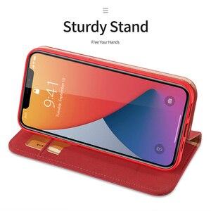 Image 4 - DUX DUCIS Portefeuille En Cuir Véritable de Luxe Pour Iphone X XS Max XR 6 7 8 Plus 12 11 Pro 11Pro Max Titulaire de la Carte De Couverture Confortable