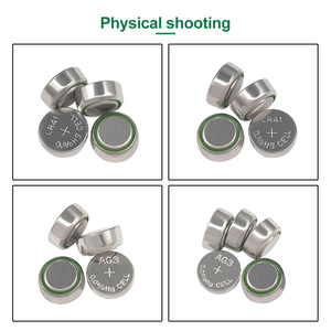 Image 3 - PHOMAX 50pcs AG3 SR41 192 button battery 392A L736 LR41 392 384 alkaline battery watch counter electronic instrument battery