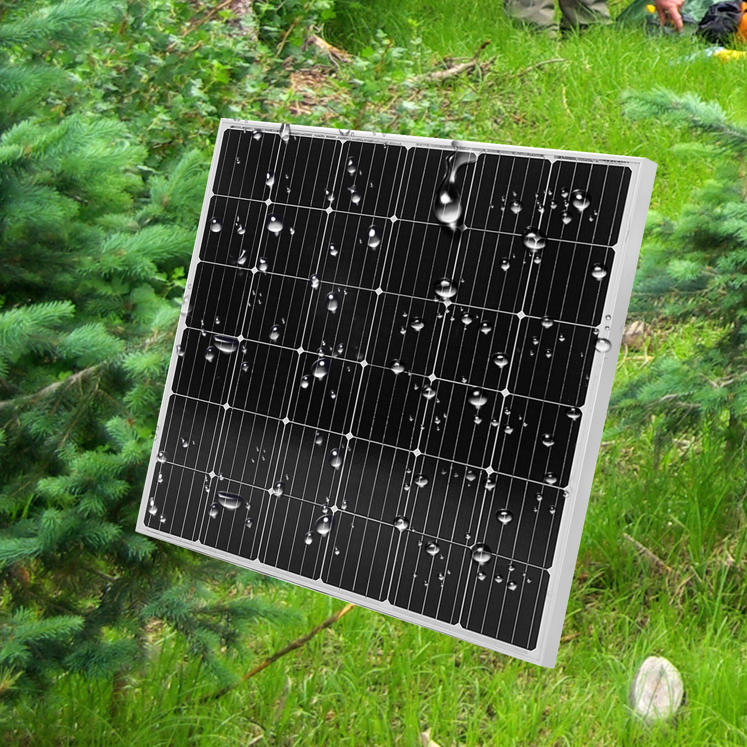 18V <font><b>150W</b></font> monocrystalline <font><b>solar</b></font> <font><b>panel</b></font> rigid waterproof <font><b>solar</b></font> <font><b>panel</b></font> high efficiency <font><b>solar</b></font> <font><b>panel</b></font> for home support 12V battery image