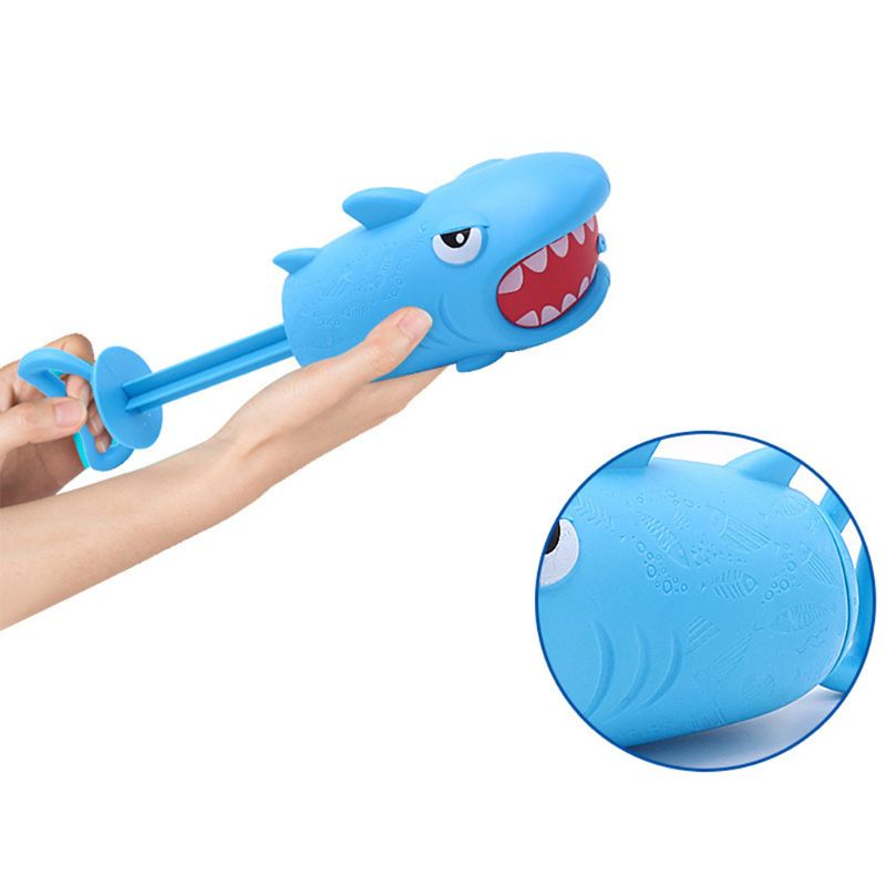 Cartoon Pig Shark Shape Mini Pump Children Beach Swimming Pool Toy Water Gun Girls Boys Gifts Q6PD