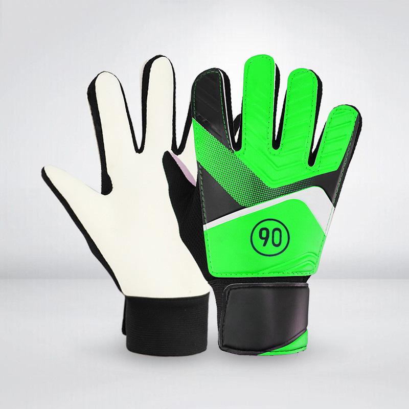 1 Pair Full Finger Gloves Children Teens Anti Slip Hands Wrap For Football Goalkeeper THJ99
