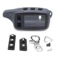TW9010 Durumda Anahtarlık Anahtarlık Kapak Tomahawk TW 9010 9030 9020 LCD Uzaktan Iki Yönlü Araç Alarm Sistemi Fob anahtarlık