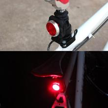 цена на USB Rechargeable Bicycle Headlight+Tail Lamp 3 Modes Safety Warning Light For Bike Night Outdoor Lighting
