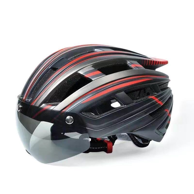 Шлем дорожный с солнцезащитным козырьком для мужчин и женщин