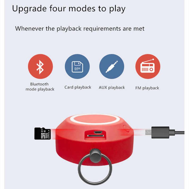 Nirkabel Outdoor Mini Speaker Portable Subwoofer Komputer Woofer Speaker Loudspeaker Kartu Mobil AUX Caixa Som De F4045D