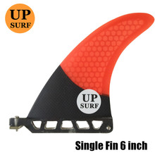 6 inch firberglass carbon single fin paddle board surfboard sup fin stand up paddle longboard fin sup board upsurf free shipping 6 10 inch fiberglass color longboard fin quilhas de prancha de surf fin paddle board fin sup fin 1 pcs