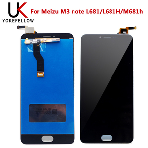 Image 2 - LCD Display For Meizu M3 note L681 L681H M681h LCD Display Digitizer Screen Complete Assembly For Meizu M3 note Display LCD