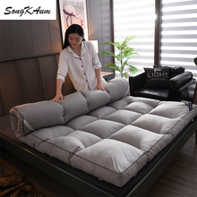 Mattresses Tatami Full-Size King Queen Twin Double-Home Thicken Songkaum Down-Velvet