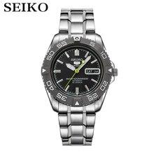 Seiko montre hommes 5 montre automatique marque de luxe étanche Sport montre bracelet Date hommes montres plongée montre relogio masculin snzb