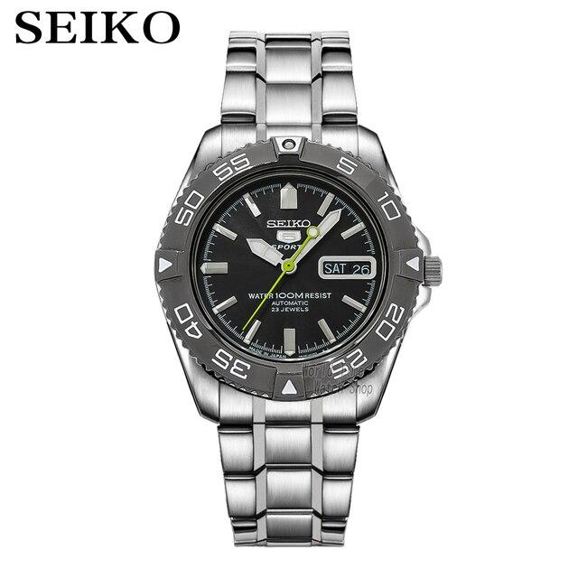 seiko watch men 5 automatic watch Luxury Brand Waterproof Sport Wrist Watch Date mens watches diving watch relogio masculin snzb