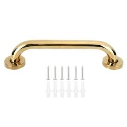 30cm Edelstahl Sicherheit Greifen Bad Dusche Handlauf Unterstützung Griff Handtuch Rack für Ältere Bad Dusche Badewanne Griff Gold
