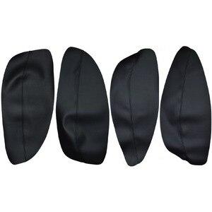 Image 2 - Panel de manilla de puerta de coche, apoyabrazos, cubierta de cuero de microfibra, para Chery Tiggo 2005, 2006, 2007, 2008, 2009, 2010