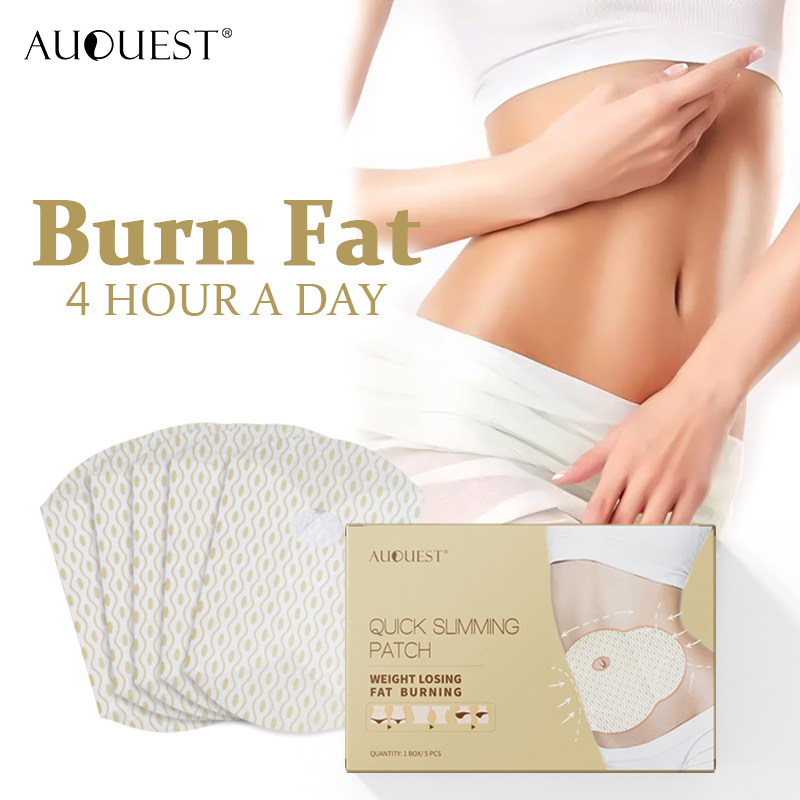 AuQuest Slimming Patch Stomach Cellulite Fat Burner Waist Belly Weight Lossing Paste Navel Sticker Diet Product