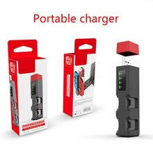 Portable Mini USB Hub Wireless Charger Four Charging Base Station Holder for NS Switch Joy-Con Game Handle Accessories