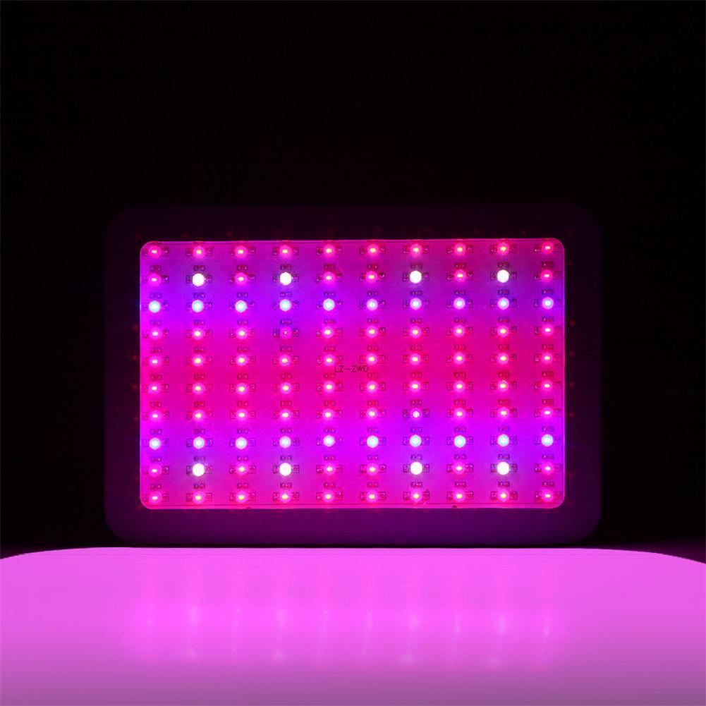 LED Grow Light Dual-core Spectrum 430-440nm 450-475nm 620-630nm 650-670nm 100W Lamp For Plant's Growth Full- Spectrum Grow Light