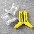 Непромокаемые сапоги для мальчиков и девочек  прозрачные непромокаемые сапоги для школьников  Нескользящие сапоги для малышей
