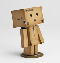 1 piece cute Japan anime Danbo Mini toy Action Figure Danbor Ver. Figure LED Light High Quality Japan Box gift new