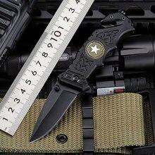 Новинка 2020 Лидер продаж боевой тактический складной нож для