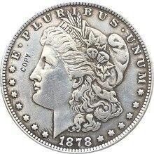 Eua morgan dólar moedas cópia