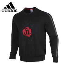 Oryginalny nowy nabytek Adidas CREW męskie swetry koszulki odzież sportowa tanie tanio CN (pochodzenie) Pasuje prawda na wymiar weź swój normalny rozmiar Oddychające