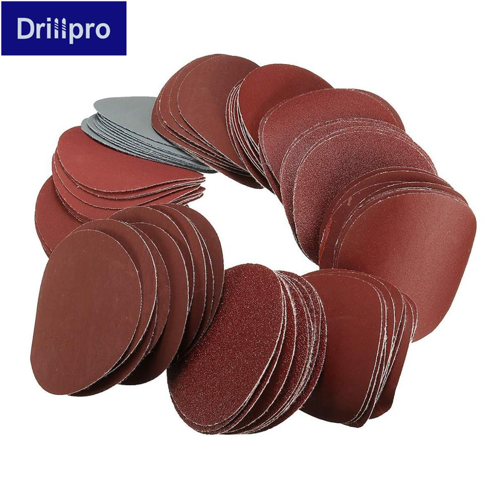 10pcs 75mm 3 Inch Sander Disc Sanding Polishing Pad Sandpaper Sanding Paper 80-3000 Grits For Polish Machine