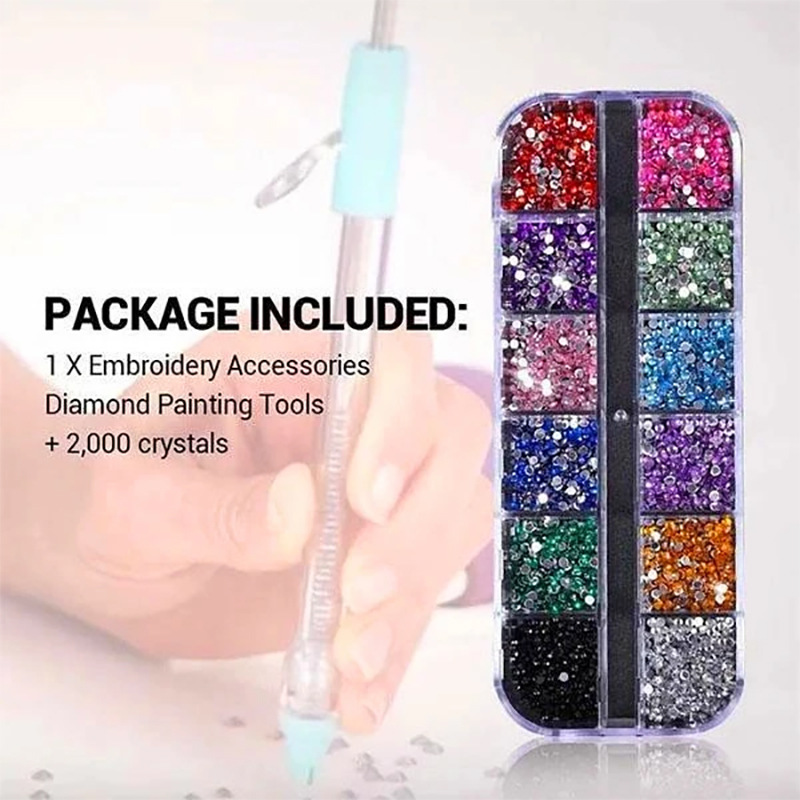 High Quality Nail Art Point Drill Pen Rhinestone DIY Painting Manicure Tools Portable for Home Women