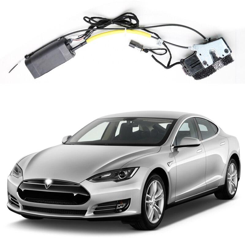 Untuk Memenangkan Tesla Model S Untuk Model X Untuk Model 3 Electric Suction Pintu Mobil Dipasang Kembali Otomatis Kunci Aksesoris Mobil Kecerdasan Tutup Bagasi Bagian Aliexpress