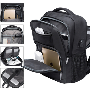 Image 2 - KAKA New Large Capacity 15.6 inch Daily School Backpack Multifunctional USB Charging Man Laptop Backpack for Teenager