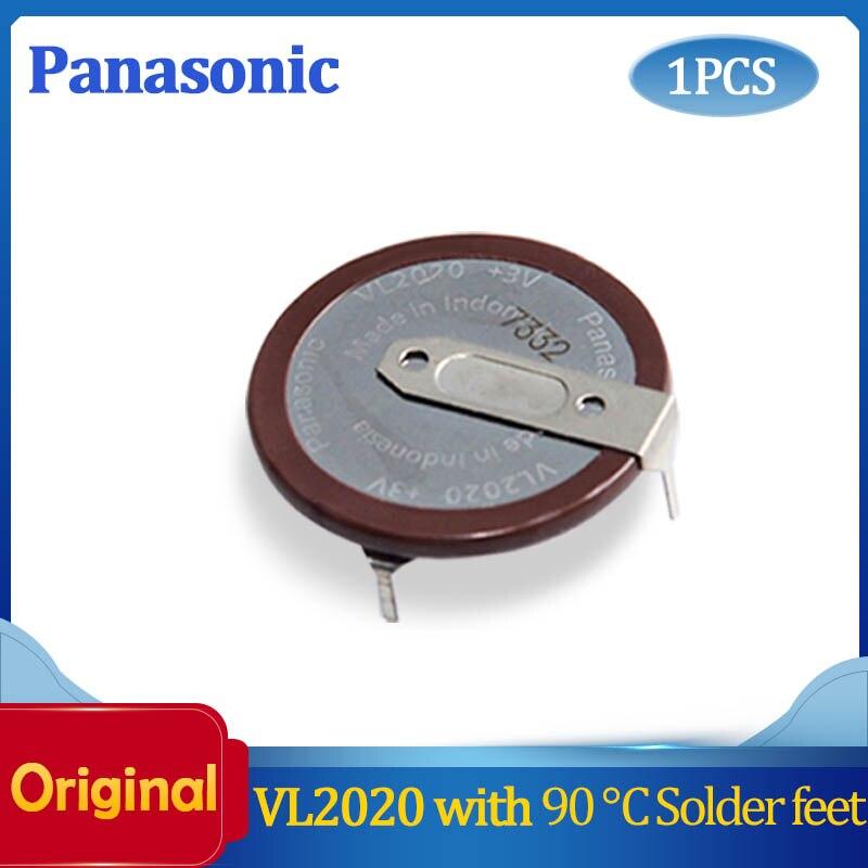 1 шт./лот 100% оригинальный автомобильный брелок VL2020 с ножками 90 градусов, Перезаряжаемый для аккумулятора кнопки PANASONIC, бесплатная доставка