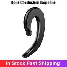 Y12 condução óssea fone de ouvido sem fio bluetooth esportes fones estéreo com cancelamento ruído à prova dfor água para xiaomi huawei