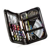 91 Uds Kits de costura DIY juego de caja de costura multifunción para acolchar a mano costura accesorios de costura de hilo de bordar
